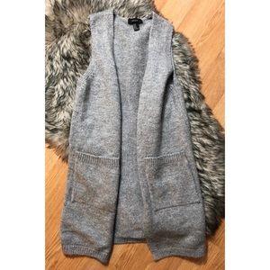 Forever 21 gray vest